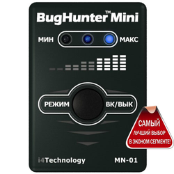 "фото Детектор жучков ""BugHunter Mini"""