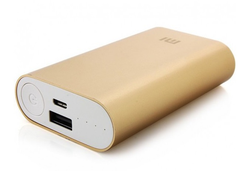 фото Xiaomi Mi Power Bank 10000 Gold