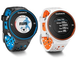 фото Garmin Forerunner 620 White/Orange